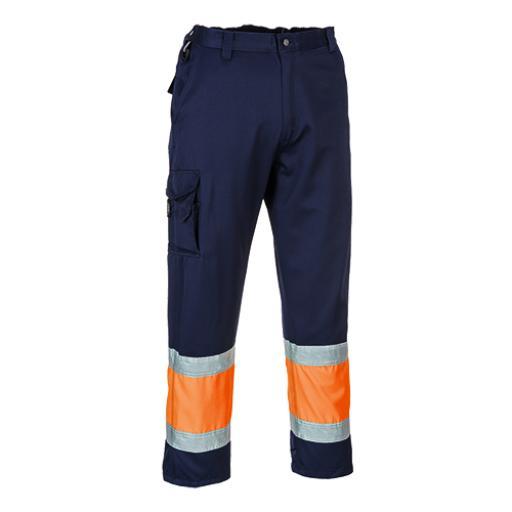 Portwest Hi-Vis 2-Tone Combat Trousers