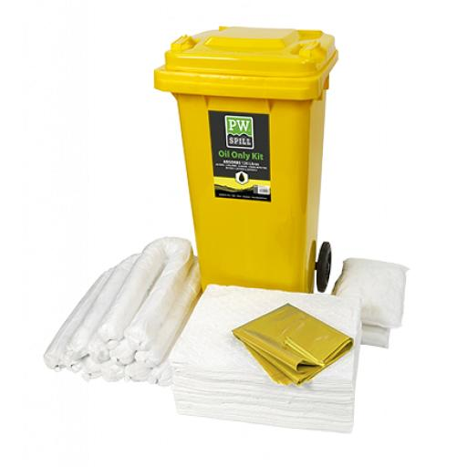 Portwest Spill 120L Oil Only Kit