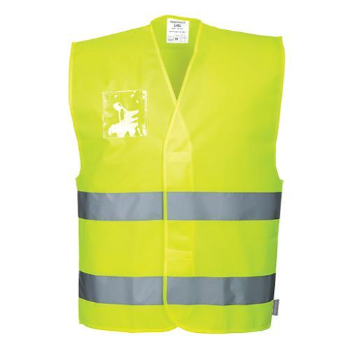 Portwest Hi-Vis 2-Band Vest ID
