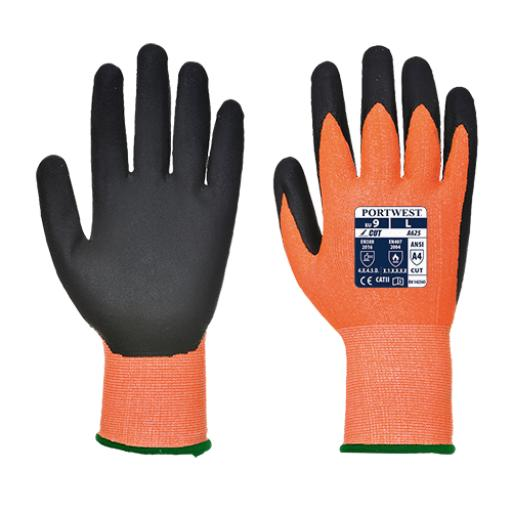 Portwest Vis-Tex PU Cut Resistant Glove