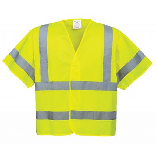 Portwest Hi-Vis Short Sleeve Vest