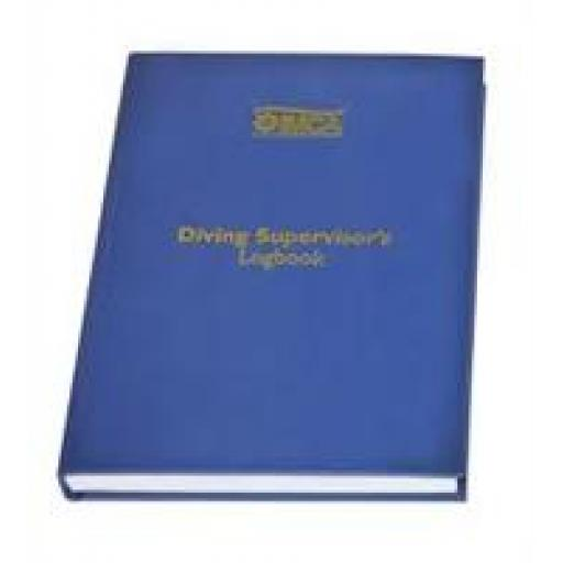 IMCA Commercial Diving Supervisor's Logbook