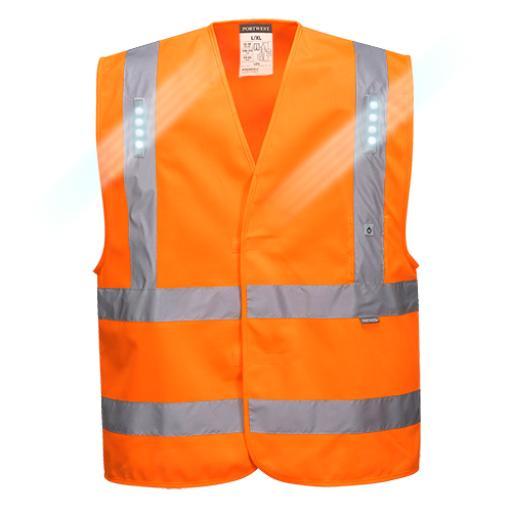 Portwest Vega Hi-Vis LED Vest