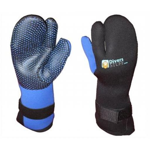 Divers Neoprene Trigger Mitts