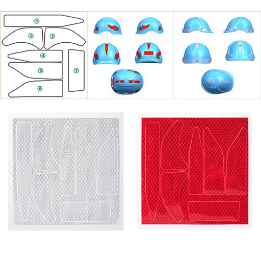 Portwest Reflect Helmet Stickers (Pk10)