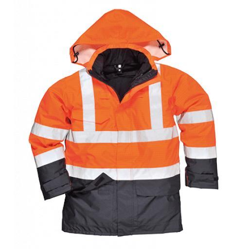 Portwest Hi-Vis Multi Protection Jacket