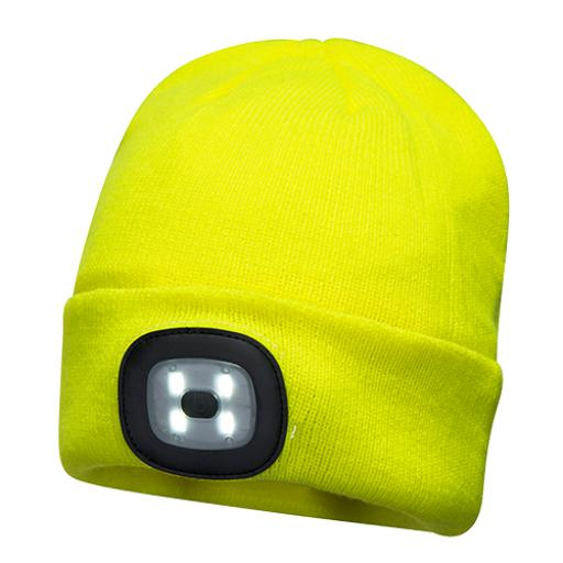 Portwest Rechargeable Twin LED Beanie