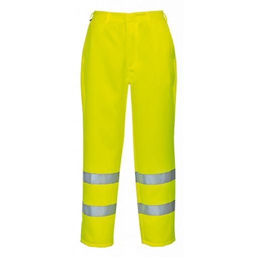 Portwest Hi-Vis P/C Trouser