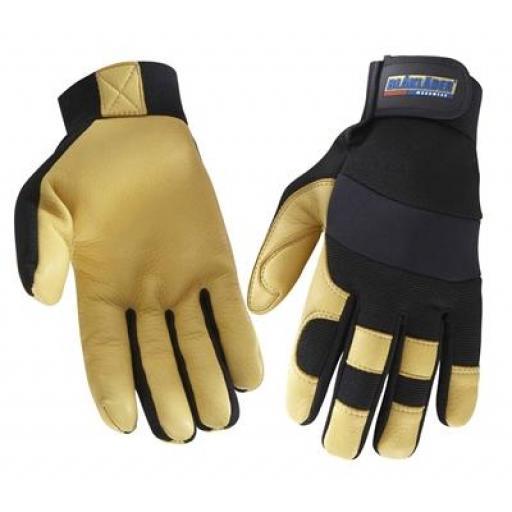 Blaklader Deer Skin Gloves - Unlined