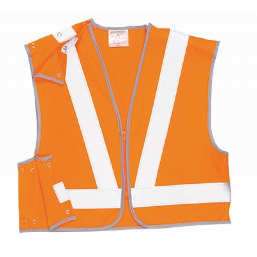 Portwest Hi-Vis Short Vest GORT