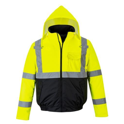 Portwest Hi-Vis Value Bomber Jacket
