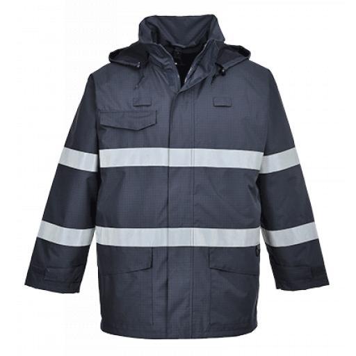 Portwest Bizflame Rain Jacket