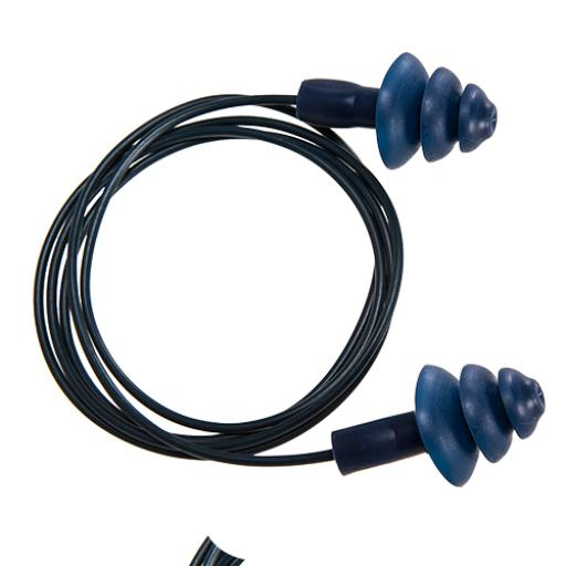 Portwest Detectable TPR Corded Ear Plug (50 pairs)