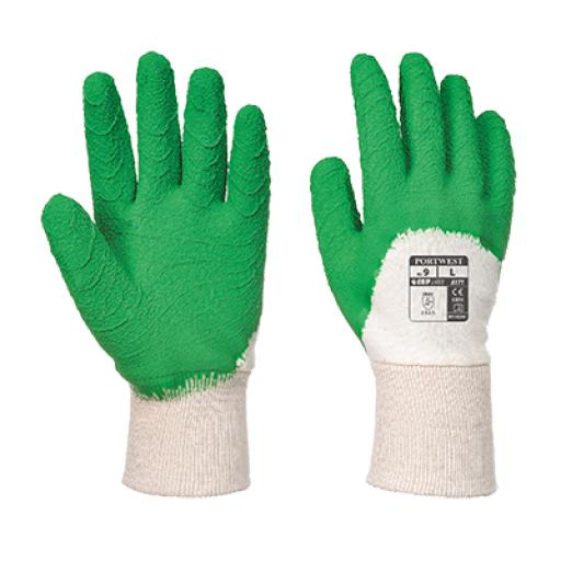 Portwest Open Back Crinkle Latex Glove