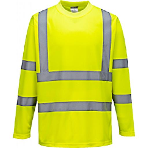 Portwest Hi-Vis Long Sleeved T-Shirt