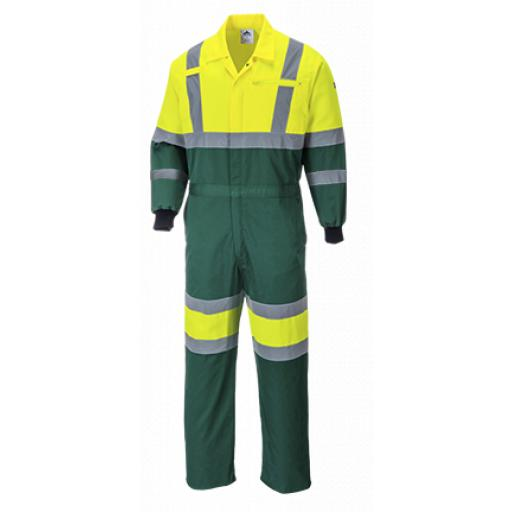 Portwest Hi-Vis Coverall