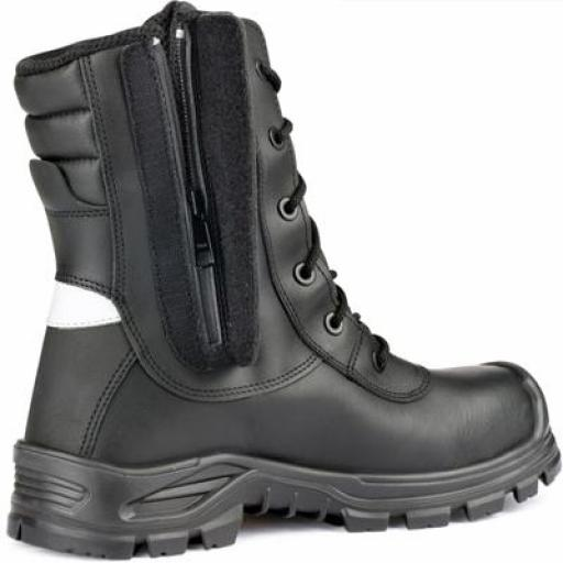 Jallatte Jalarcher Safety Boot, with Composite Toe Caps & Midsole and Waterproof Side Zip