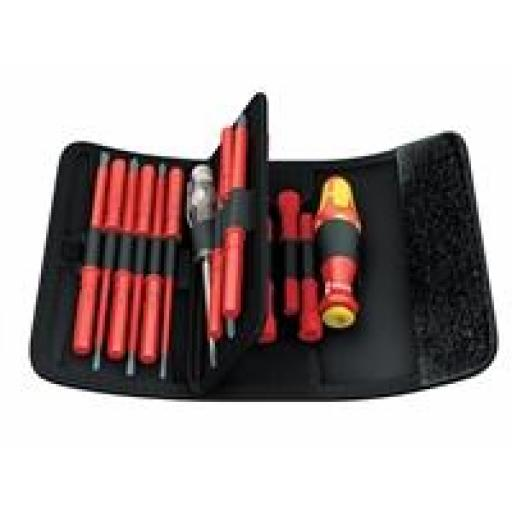 Kraftform VDE Kompakt Screwdriver Set of 18 Interchangeable