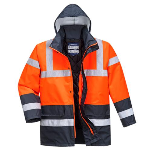 Portwest Contrast Traffic Jacket