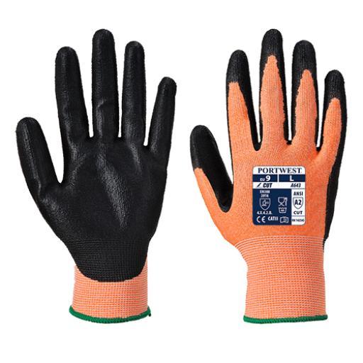 Portwest Amber Cut Glove - Nitrile