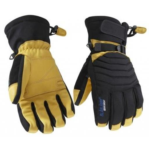 Blaklader Deer Skin Gloves - 100g Thinsulate