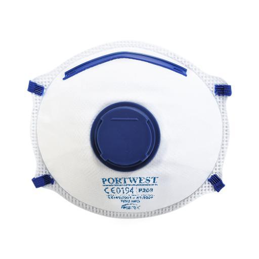 Portwest FFP2 Valved Respirator (Pk10)