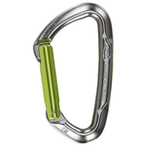 Standard 100mm straight gate carabiner