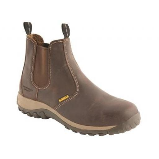 Dewalt Radial Dealer Boots Brown, with Steel Toe Cap