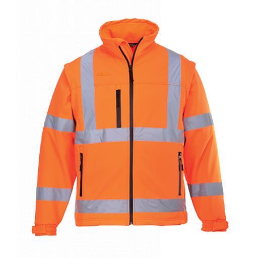 Portwest Hi-Vis Softshell Jacket - S428