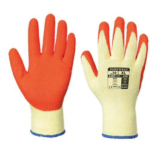 Portwest Grip Glove - Latex