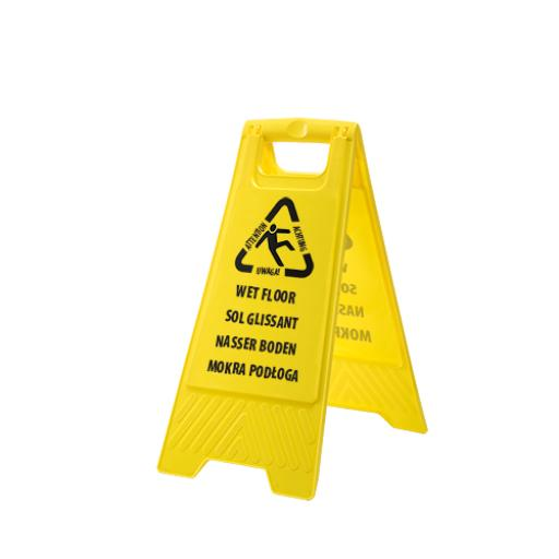 Portwest Multi Language Wet Floor Sign