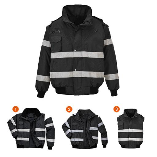 Portwest Iona 3in1 Bomber Jacket