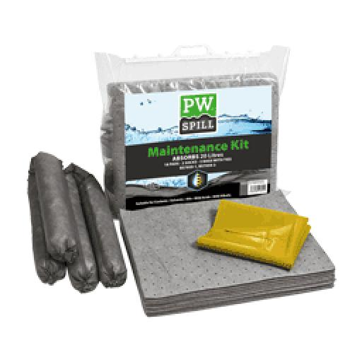 Portwest Spill Maintenance Kit 20L Pk6