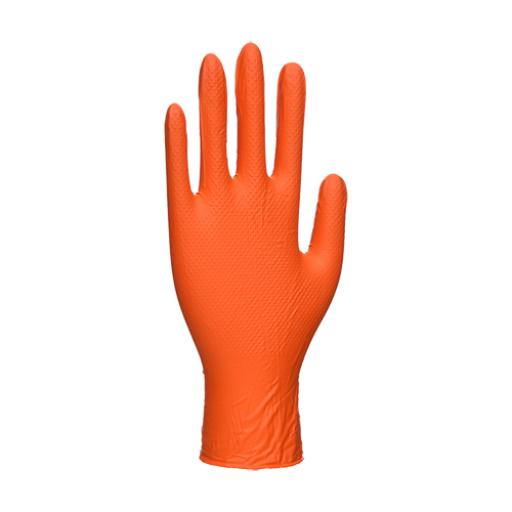 Portwest Orange HD Disposable Gloves