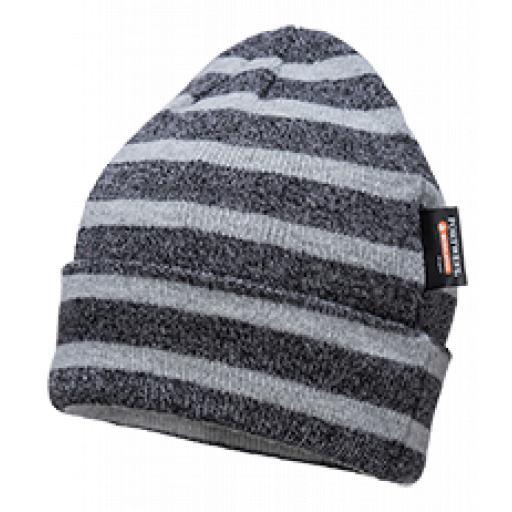 Portwest Insulatex Knit Hat Striped