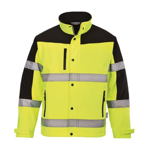 Portwest Hi-Vis Two-Tone Softshell