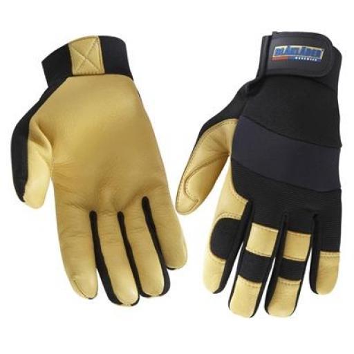 Blaklader Deer Skin Gloves - 60g Thinsulate