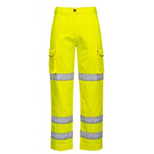Portwest Ladies Hi-Vis Trousers