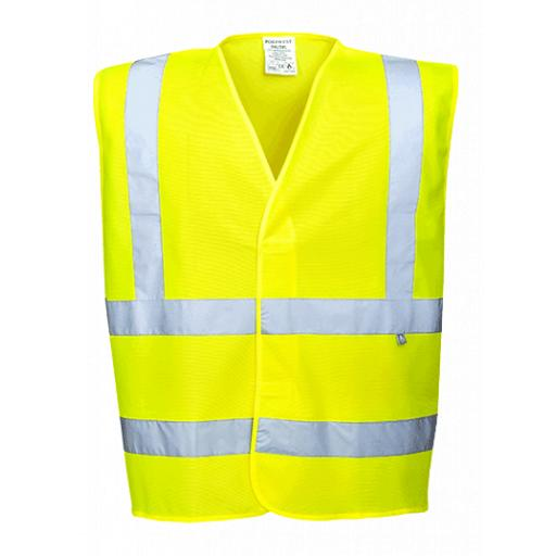 Portwest Hi-Vis Vest FR Finish