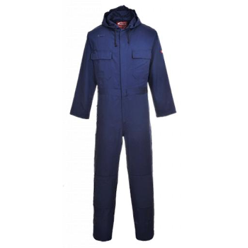Portwest BizWeld Hooded Coverall
