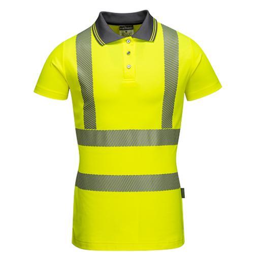 Portwest Hi-Vis Ladies Pro Polo Shirt