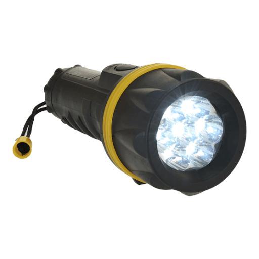 Portwest 7 LED Rubber Torch