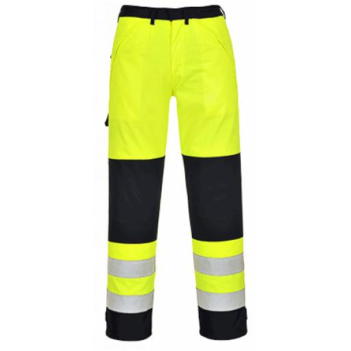 Portwest Hi-Vis Multinorm Trousers