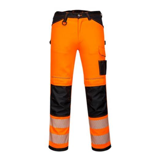 Portwest PW3 Hi-Vis Work Trousers