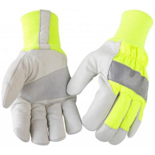 Blaklader 2240 High Vis Lined Glove