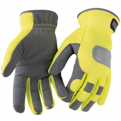 Blaklader 2242 High Vis Mesh Glove